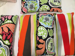 colourful ikea pillows