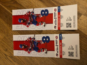 1 paire de billets Canadiens de Montreal
