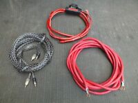 SCOSCHE AMP POWER AUDIO CABLES