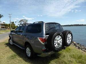 Mazda BT50 GT Dual Cab with all the extra's Port Macquarie Port Macquarie City Preview