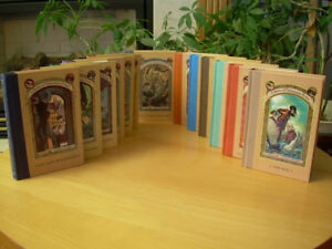 Lemony Snicket - A Series of Unfortunate Events 1-13 - MINT Set