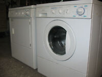 Front Load Electric Washer and Gas Dryer