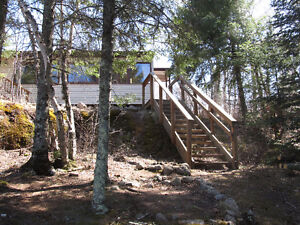 Cozy Lakefront  Cottage for Rent in Whiteshell