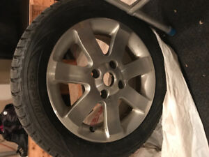 winter tires 205/55/16 for sale!!