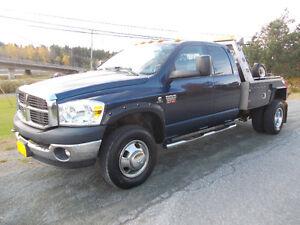 2008 Dodge Ram 3500 Cummins 6 Speed 4x4 Tow Truck Only 75K