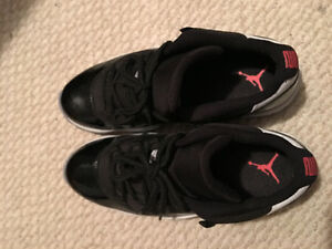 Air Jordan 11 Low Infrared size 11.5 worn 3x