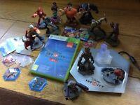Disney infinity Xbox 360 game 2.0 , 13 characters , portal bundle £30