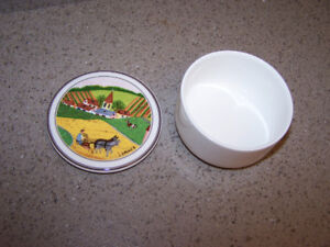 VILLEROY & BOCH porcelain PILL-TINKET BOX LUXEMBOURG
