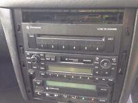 VW 6CD IN DASH CHANGER GAMMA HEADUNIT GOLF BORA POLO