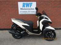 Yamaha MW 125 TRICITY, 2016, 66 REG, ONLY 1 OWNER & 1941 MILES, HEATED GRIPS