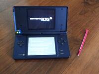 Nintendo DSi - Dark Blue w/stylus (NO CHARGER)