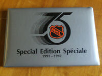 EDITION SPECIALE 75 ANIVERSAIRE KRAFT HOCKEY 1991-92