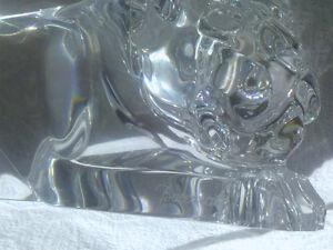 Baccarat Crystal - Stalking Panther