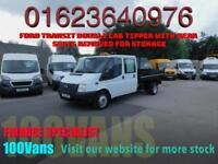 FORD TRANSIT 2.2TDCi DOUBLE CAB TIPPER 100PS EU5 RWD T350L LWB DRW