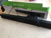 TV sound bar speaker
