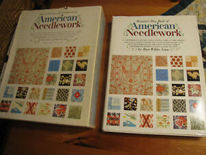 Woman's day book of the American Needlework book set