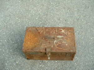 Old Toolbox and Tools SOLD THANKS