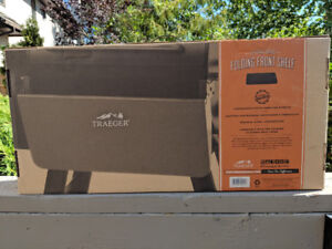 TRAEGER FOLDING FRONT SHELF for 22 Series Grills - NEW in box!