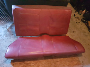 1967/68 Ford Mustang Back Seat