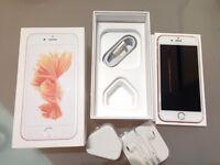 iPhone 6s rose gold 16g unlocked
