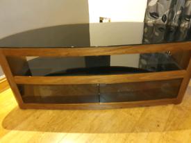 AVF Burghley 1250 walnut tv stand