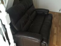 2 seater electric recliner - very comfy!!