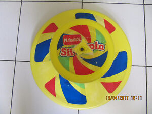 Vintage Playskool Sit N Spin Toy Made By Tonka In Canada In 1973
