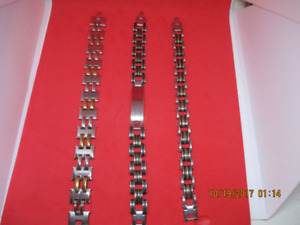 Assorted New Stainless Steel Bracelets