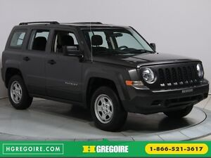 2016 Jeep Patriot SPORT 4X4 AUTO A/C