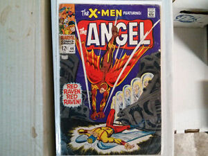 The X-Men featuring: The Angel #44 $10