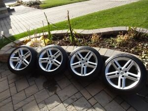 Set of 4 MOMO Rims (Made in Italy) with 205/45 ZR16 tires