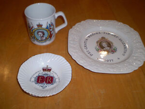 QUEEN ELIZABETH SILVER JUBILEE ITEMS