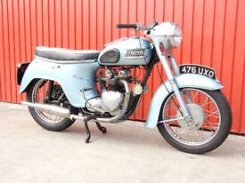 TRIUMPH TWENTY ONE BATHTUB 1958 350cc