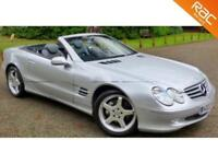 2002 02 MERCEDES-BENZ SL 5.0 SL500 2D AUTO 306 BHP LOW MILEAGE+HIGH SPEC!