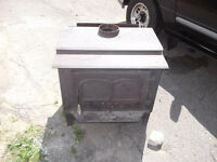 For sale wood stove and Selkirk chimney