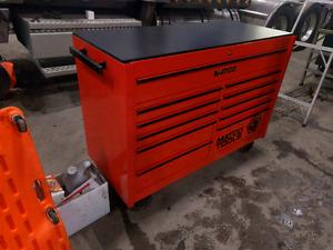 Matco 4s  2 bay tool box