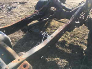 04 ford super duty chassis complete