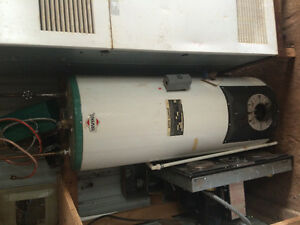 Irving oil fired hot water heater