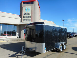 2016 TNT 7x14ft Enclosed Trailer/Black/Ramp $6499