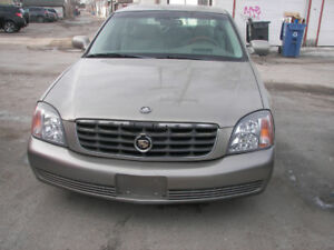 2000 Cadillac DeVille Sedan (Safetied)