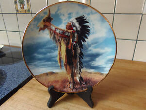Prayer to the Great Spirit Plate