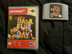 Conker's Bad Fur Day (Reproduction And Case)