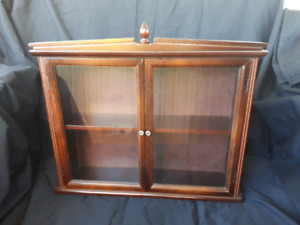 Curio Cabinet with glass doors