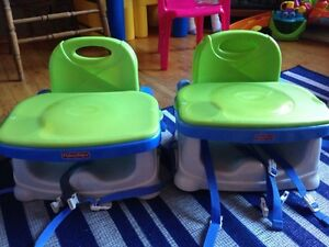 2 Chaises d'appoint Fisher Price