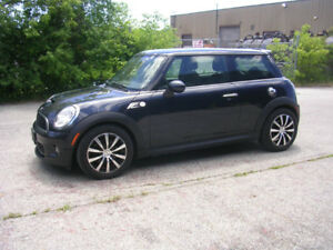2008 MINI COOPER S- 6 SPEED- LOADED- $8995 CERTIFIED