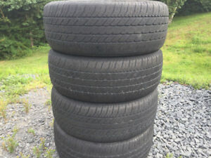 Four 205/60R15 Summer Tires Excellent Tread