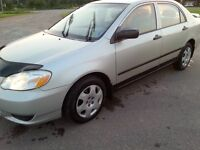 2003 Toyota Corolla CE Sedan NEW MVI ONLY 131480 KMS