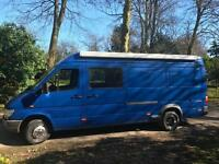 Mercedes 412D 2.8 Motorhome CAMPERVAN,3Bed,R/GARAGE,TOILET/SHOWER,SINK,TV,Heater