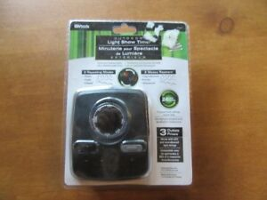 OUTDOOR LIGHT SHOW TIMER (3 OUTLETS)
