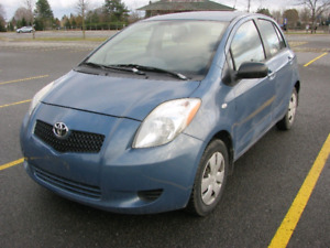 2007 Toyota Yaris hatchback Blue, low km